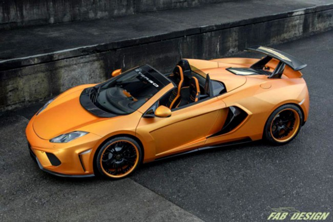 Фото McLaren MP4-12C Spider Terso