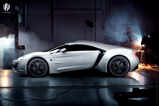Фото суперкара Lykan Hypersport