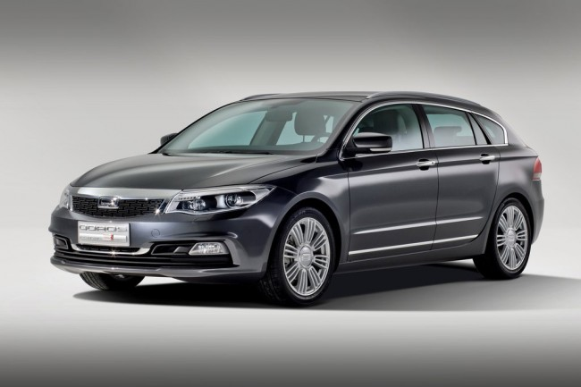 Фото универсала Qoros 3 Estate