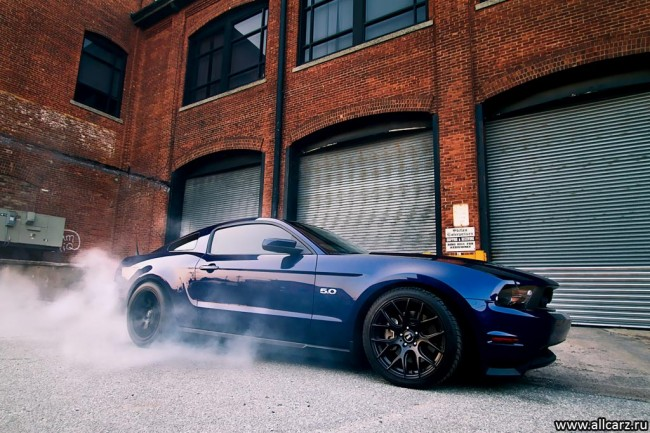 Ford Mustang GT фото