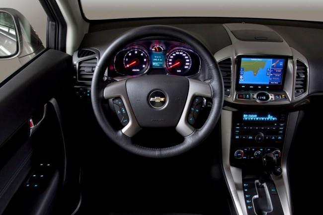 Фото салона Chevrolet Captiva
