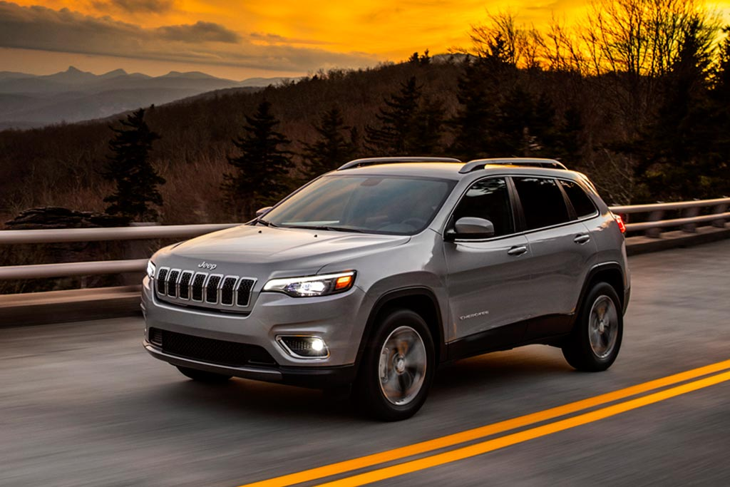 Обновленный Jeep Cherokee 2018
