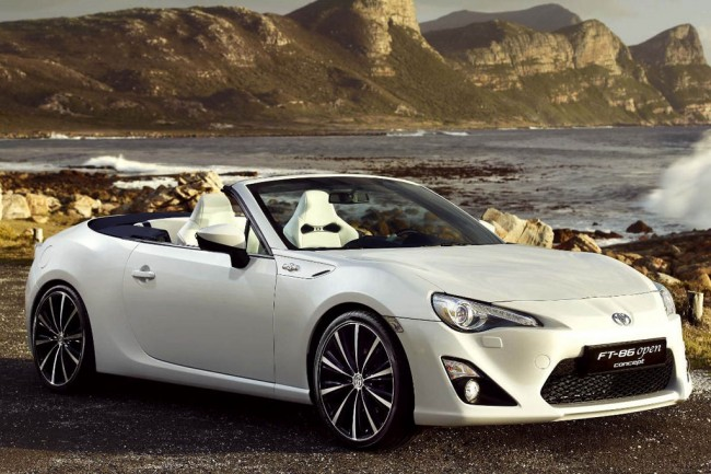 Фото Toyota GT 86 Open Top Concept