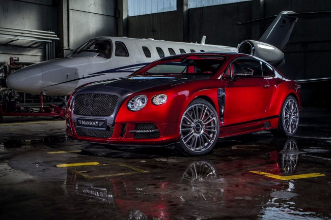 Mansory Sanguis на базе Bentley Continental GT