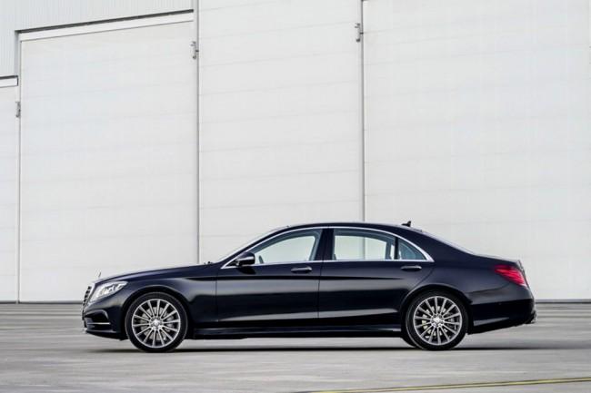 Новый Мерседес S-класса 2014