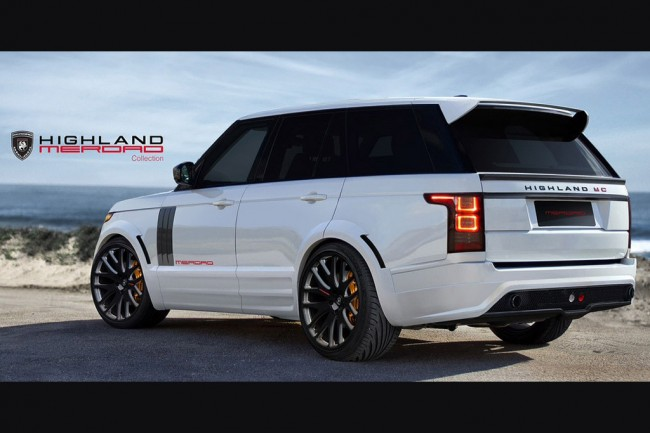 Обвес Highland MC для Range Rover 4
