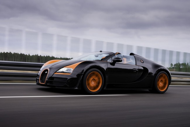 Фото Veyron Grand Sport Vitesse World Record Car