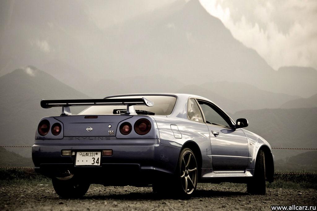 Nissan skyline gtr r34 nismo фото