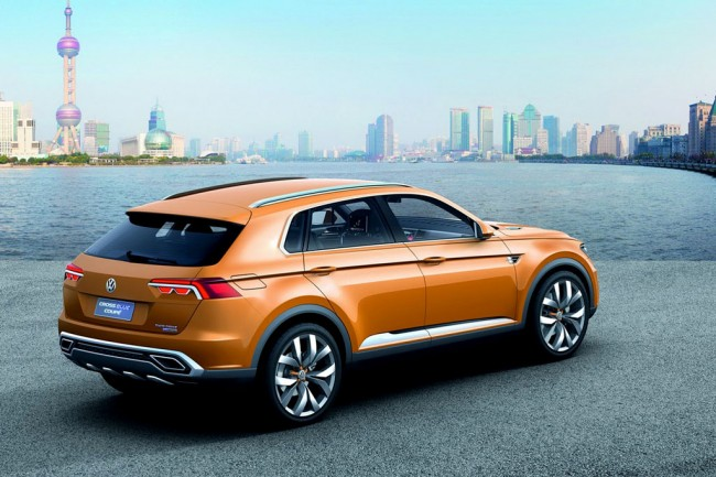 Фото Volkswagen CrossBlue Coupe
