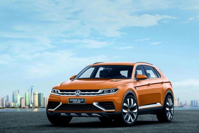 VW CrossBlue Coupe Concept фото