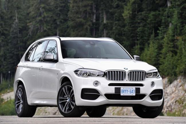 Фото нового BMW X5 M50d 2014