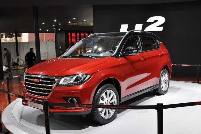 Фото нового Great Wall Haval H2