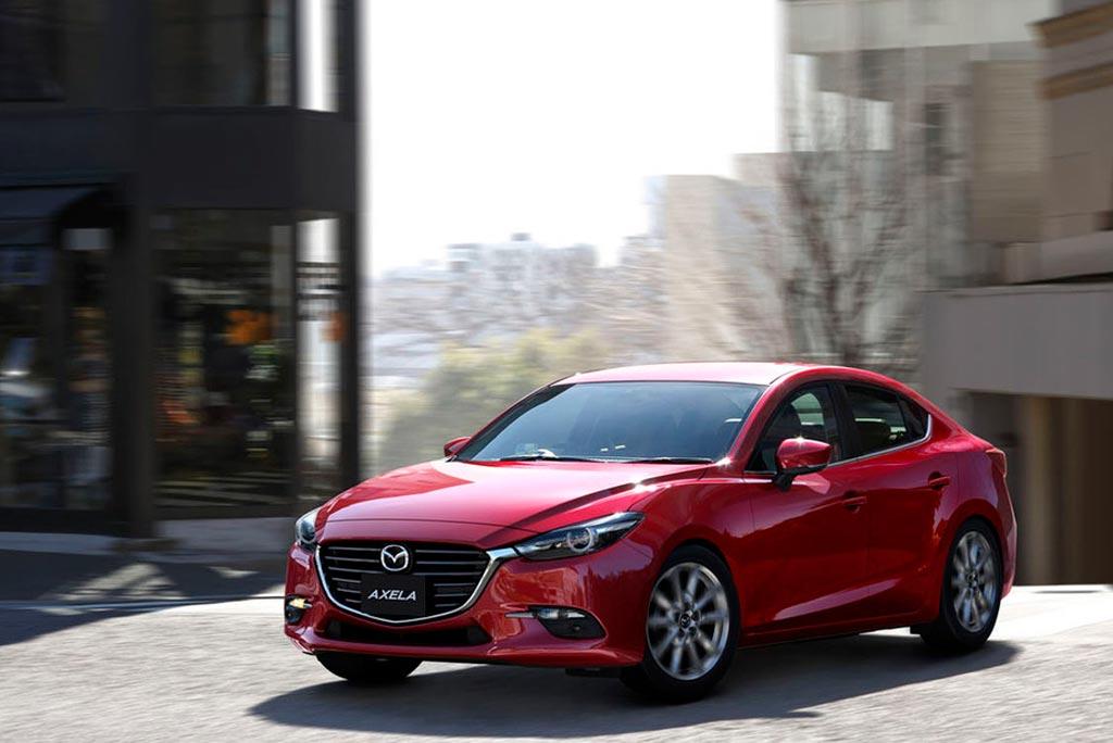 Обновленная Mazda 3 2017 года