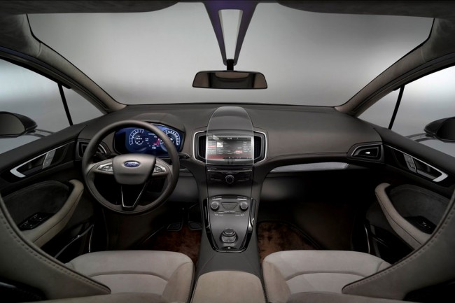 Фото салона Ford S-Max Concept