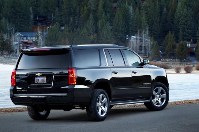 Chevrolet Suburban нового поколения