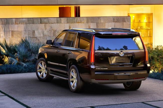Фото нового Cadillac Escalade 0