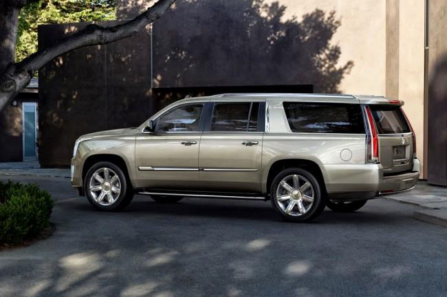 Удлиненный Cadillac Escalade ESV 0015