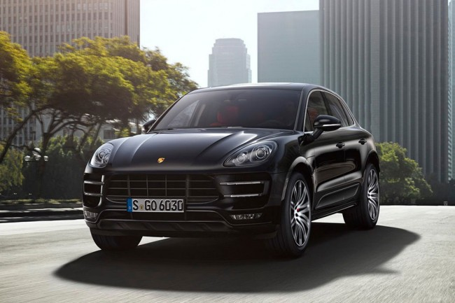 Porsche Macan Turbo фото