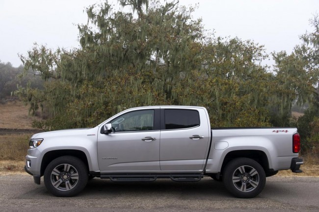 Новый Chevrolet Colorado 2017 фото