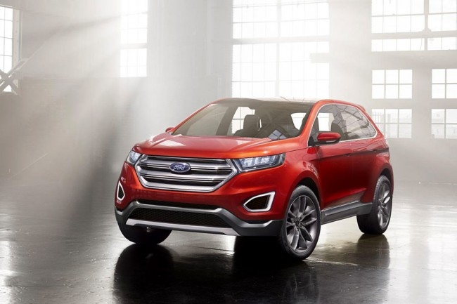 Фото Ford Edge Concept