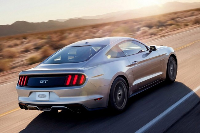 Ford Mustang VI фото
