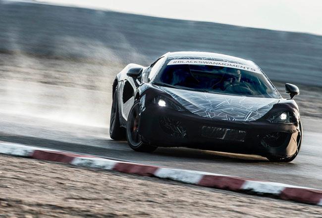 Подробности о новом McLaren с кодовым индексом P13