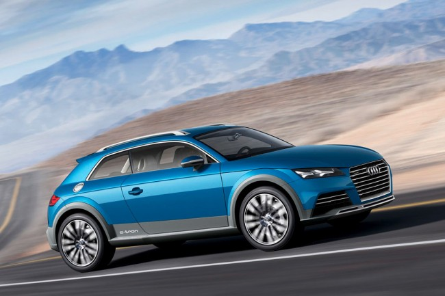 Концепт Audi Allroad Shooting Brake