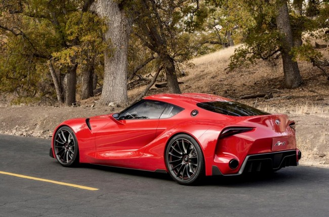 Toyota FT-1 Concept фото