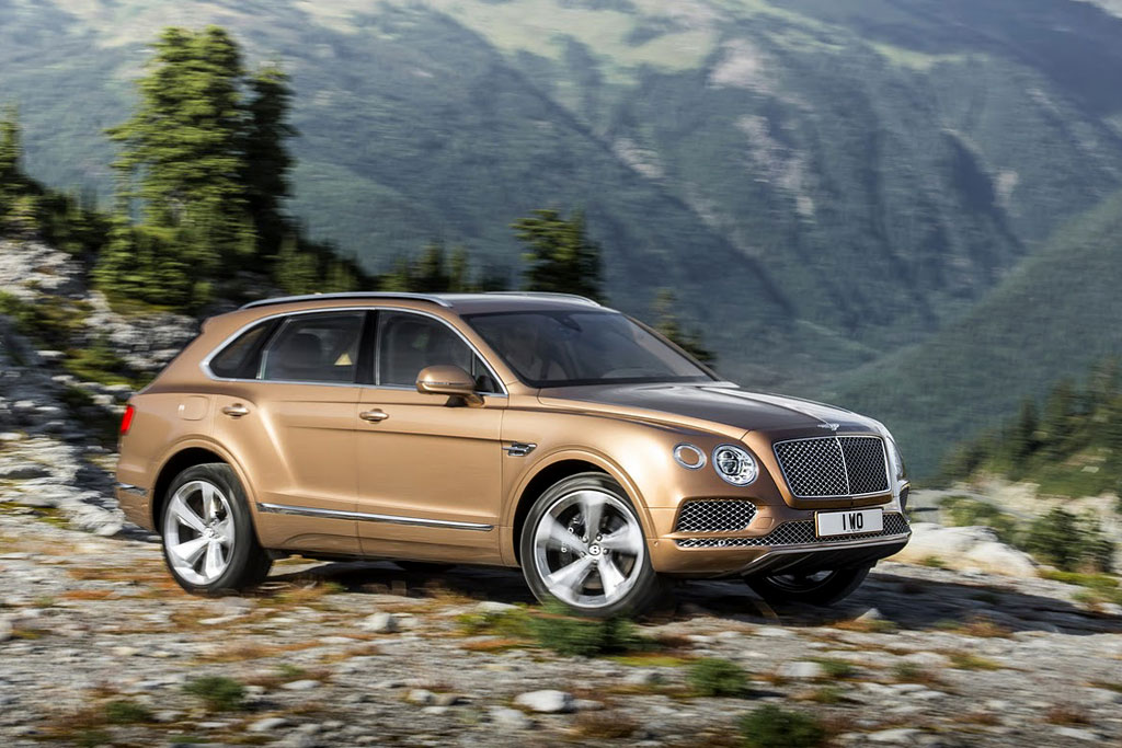 Новый Bentley Bentayga 2017