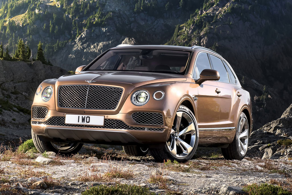Bentley suv 2016 price