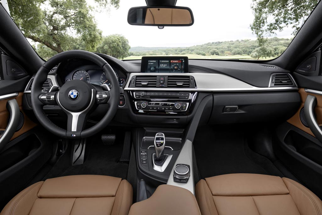 Салон BMW 4 Gran Coupe