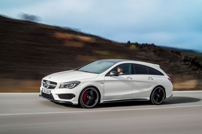 Обновленный CLA 45 AMG Shooting Brake 2016