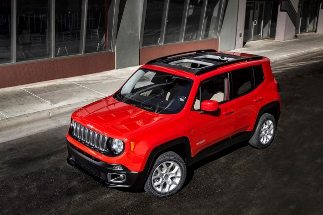 Компактный внедорожник Jeep Renegade