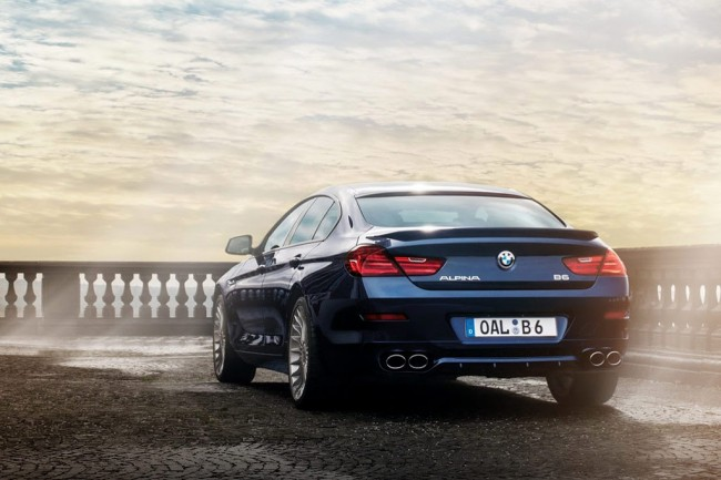 BMW Alpina B6 Gran Coupe фото