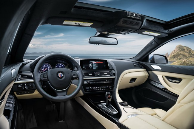 Фото салона BMW Alpina B6 Gran Coupe