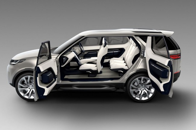 Фото Land Rover Discovery Vision
