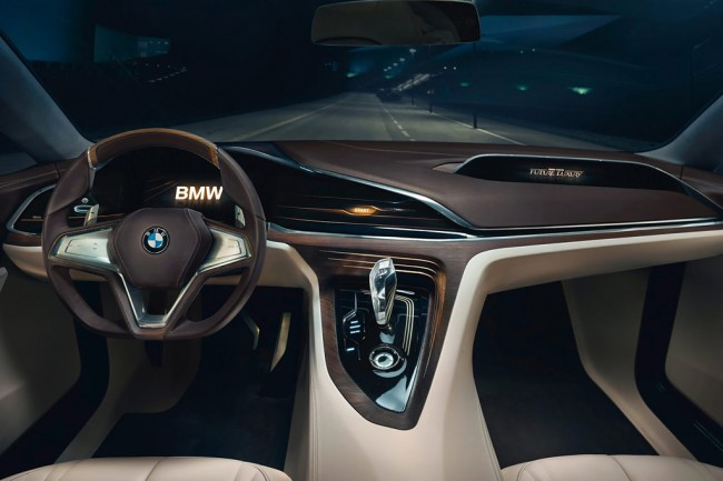 Салон концепта BMW Vision Future Luxury