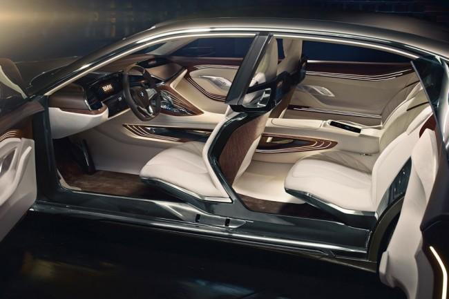 Интерьер BMW Vision Future Luxury фото