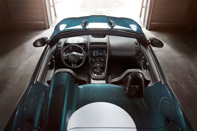 Фото салона Jaguar F-Type Project 7