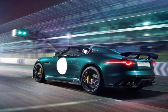 Фото нового Jaguar F-Type Project 7