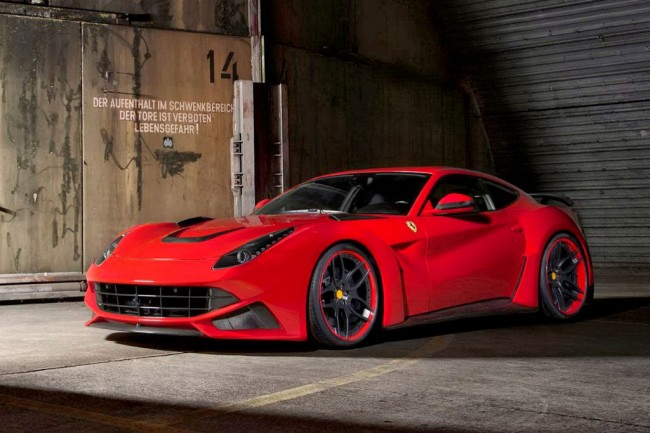 Фото Ferrari F12 Berlinetta N-Largo от Novitec Rosso