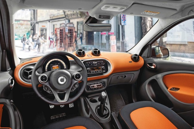Фото салона Smart Forfour II