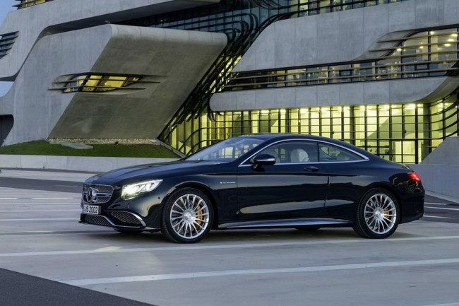 Mercedes S65 AMG Coupe C217 фото