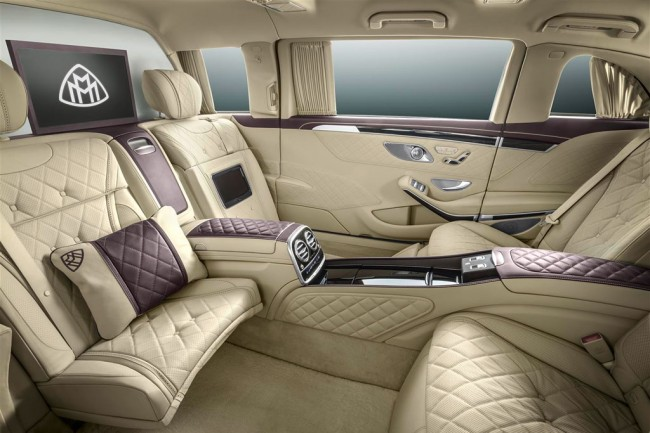 Интерьер Mercedes-Maybach Pullman