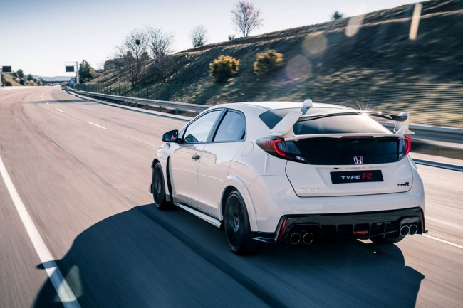 Фото Honda Civic Type R 2016
