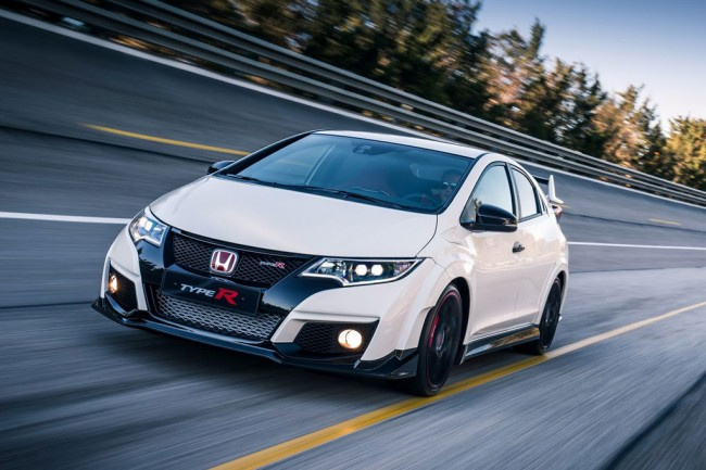 Новая Honda Civic Type R 2016