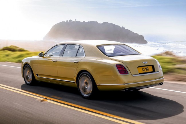 Фото нового Mulsanne Speed