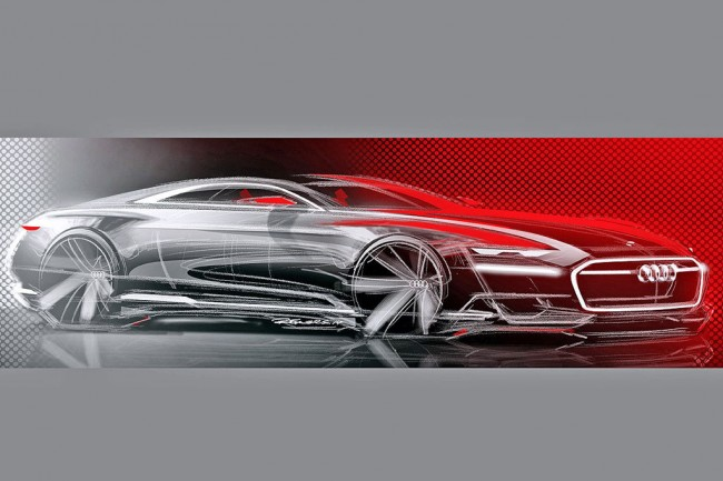Скетч концепта Audi Prologue