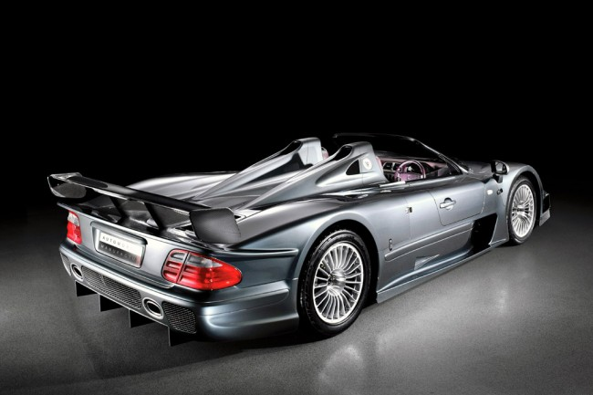 Эксклюзивный Mercedes CLK GTR Roadster