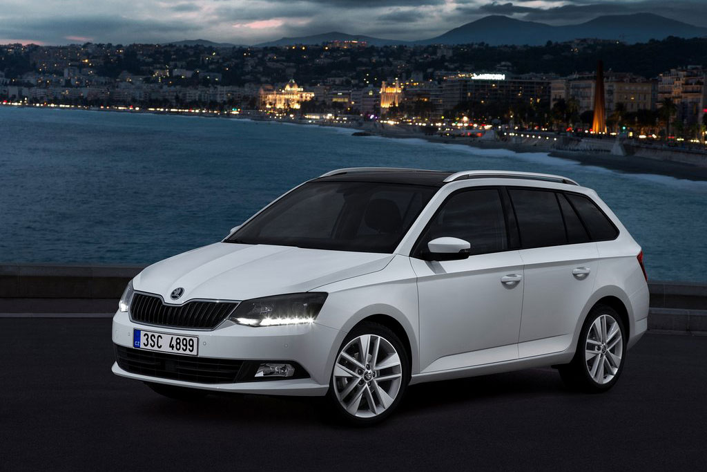 skoda fabia combi 2017. Black Bedroom Furniture Sets. Home Design Ideas